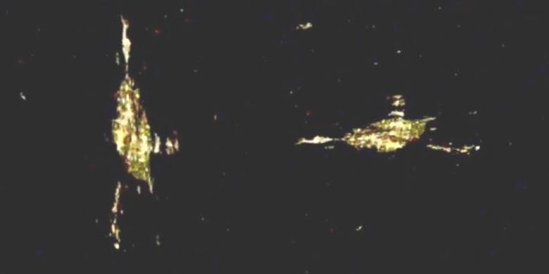 НАСА прерывает онлайн-трансляцию, как только в объектив камеры МКС попадает что-то странное