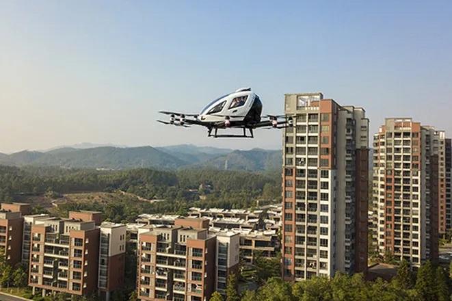 В Китае создадут необычный туристический сервис с летающим такси