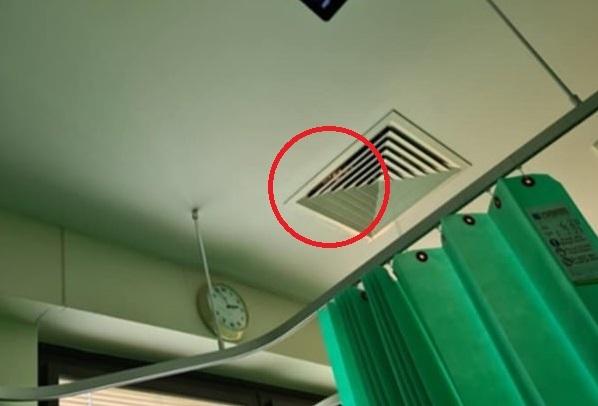 В больничной вентиляции сидело нечто, что напугало пациентку