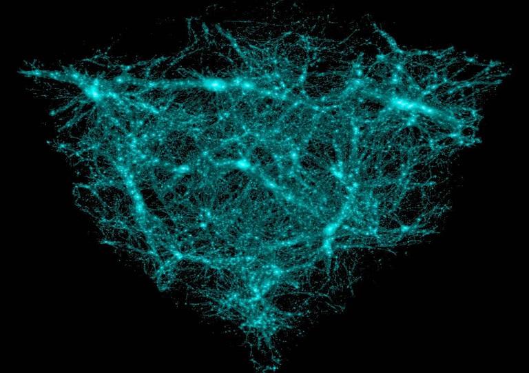 Скопление темной материи обнаружили возле Земли