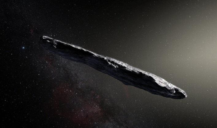 Гарвардский профессор убежден, что астероид Оумуамуа является посланником инопланетян