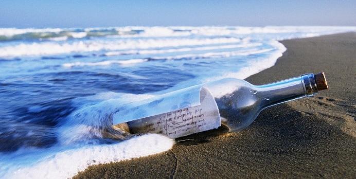 Фантастический текст письма в бутылке - совпадение или предвидение?