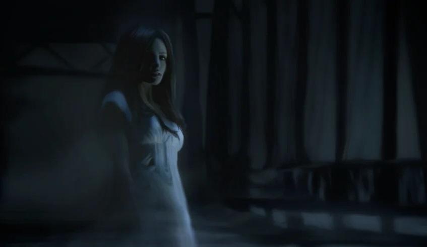«Призрачную девушку» зафиксировала камера видеонаблюдения в штате Огайо