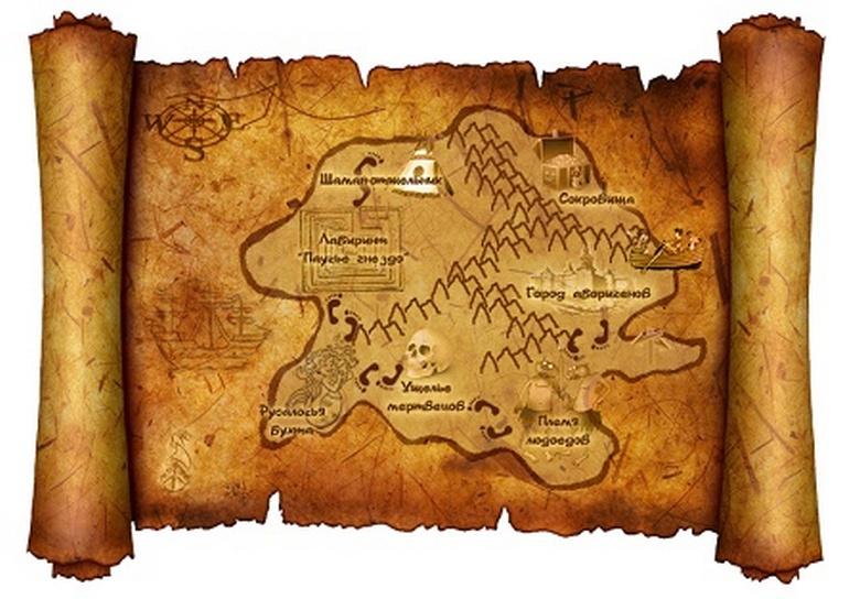 ядовитых таинственная карта картинки тот