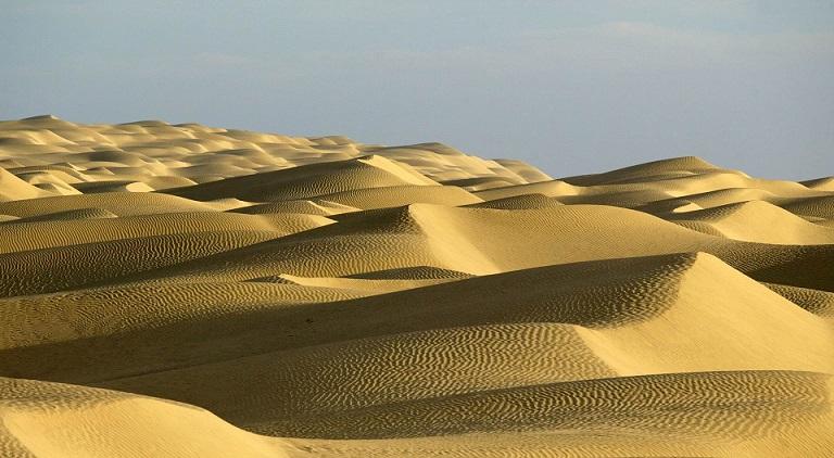 В Китае под пустыней Такла-Макан обнаружили море