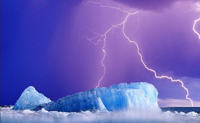 Количество молний в Арктике может удвоиться из-за глобального потепления