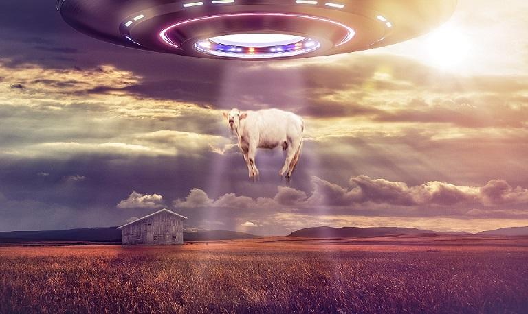 Странный НЛО зафиксировала камера наблюдения в Северной Дакоте