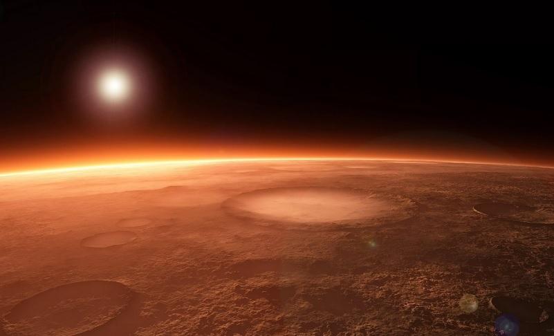 Впервые получен кислород из атмосферы Марса