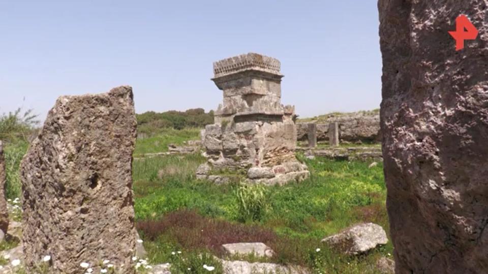 В Сирии раскапывают обитель древнего божества