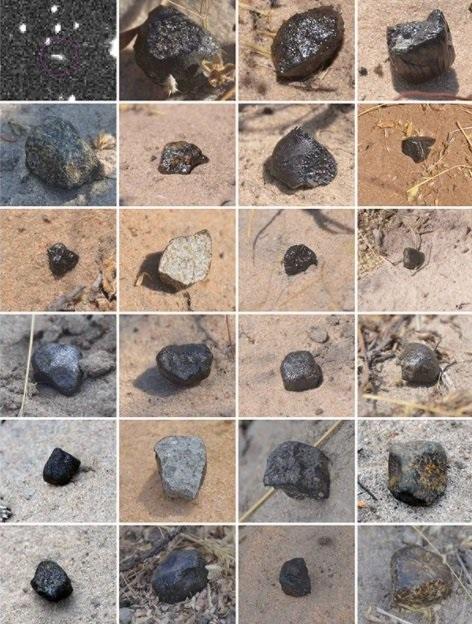 Историю упавшего на Землю астероида проследили на 22 миллиона лет назад