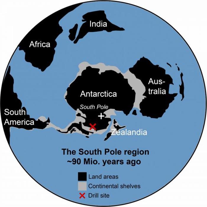 Как выглядела Антарктида 90 миллионов лет назад