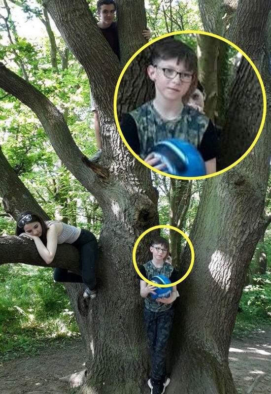 Призрак ребенка попал на снимок, сделанный в парке Англии