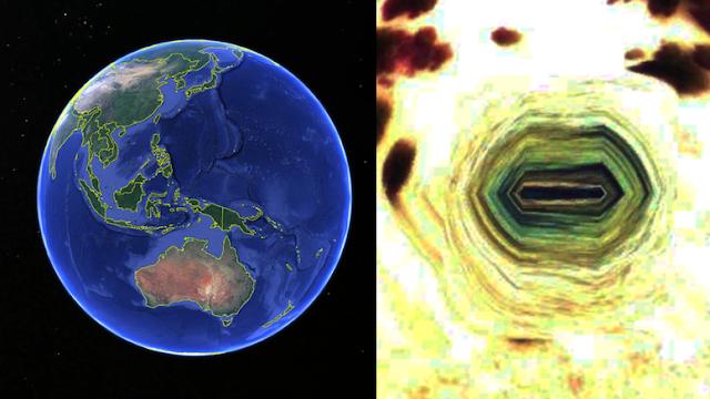 В Индонезии обнаружили подземный вход на «базу инопланетян»
