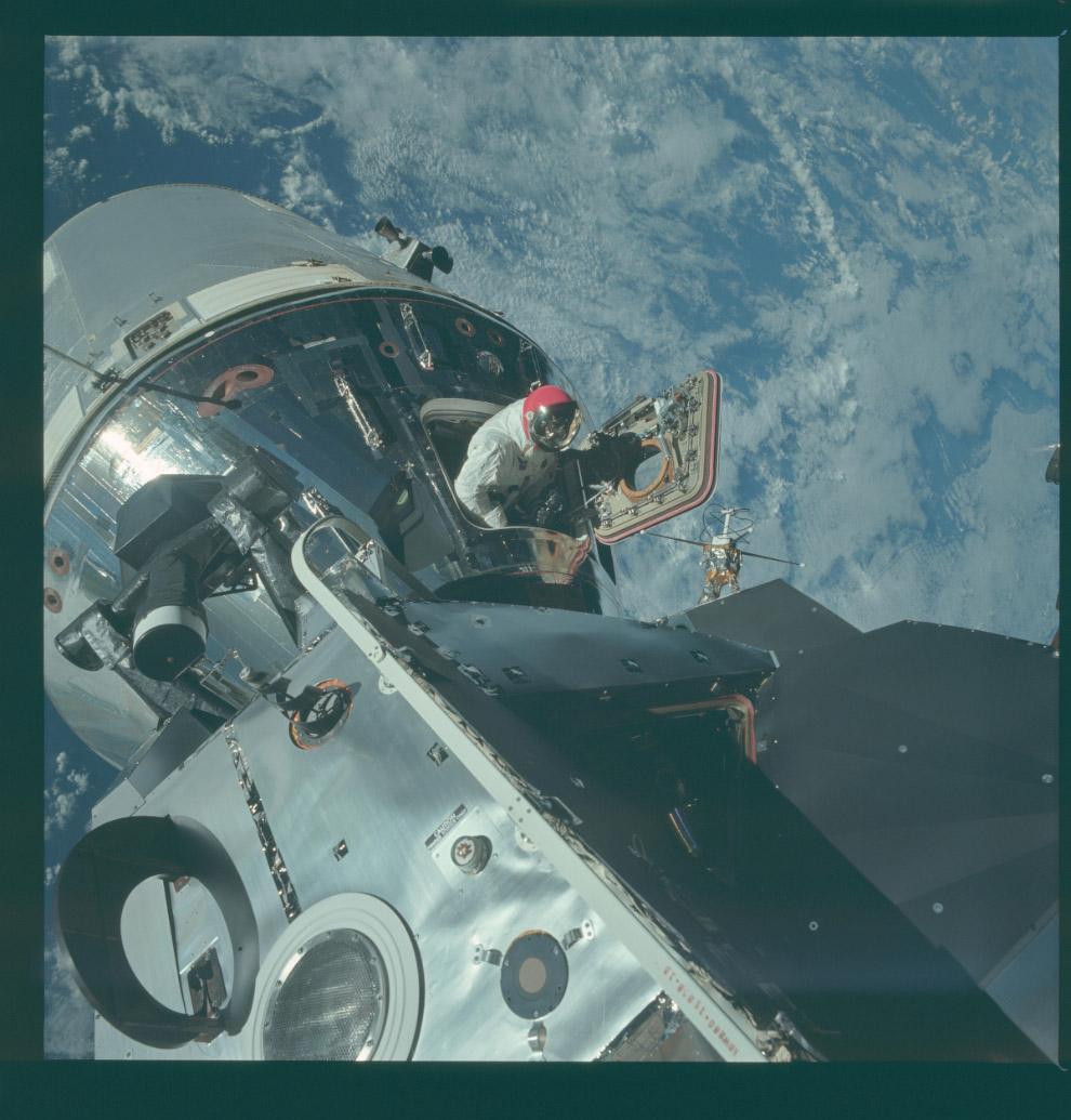 Программа «Аполлон-9»: на орбите Земли