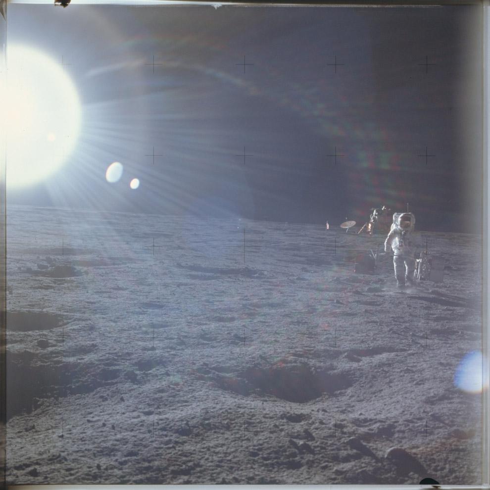На Луне: программа «Аполлон-12»
