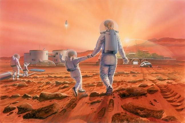 Ученые доказали, что люди могут размножаться на Марсе