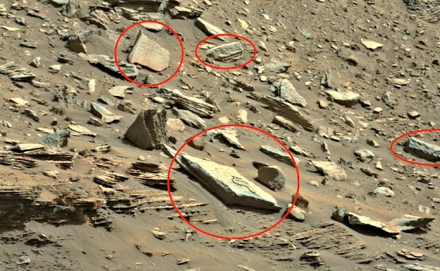 Древнюю «гробницу инопланетянина» обнаружили на Марсе