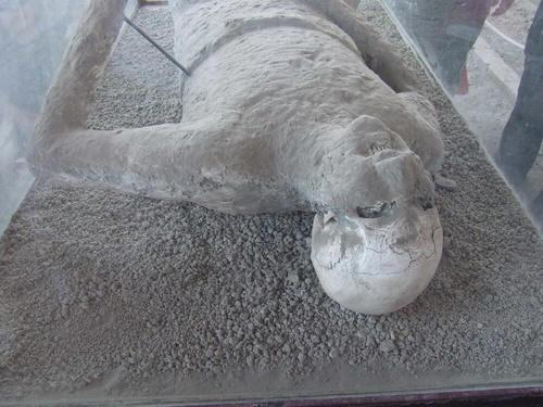 Пропавшего человека нашли в древних Помпеях