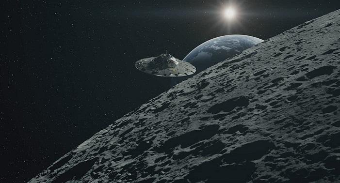 Уфолог заявил о 8-километровом звездолете в лунном кратере