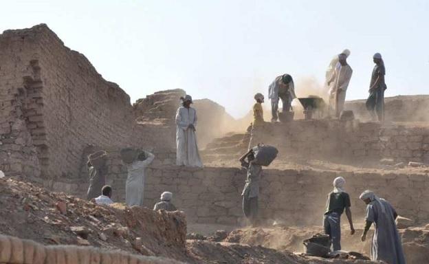 Под песками Египта нашли древний сакральный город
