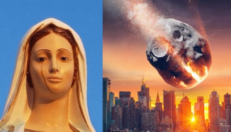 В Италии «заплакала» статуя Девы Марии: нехороший знак