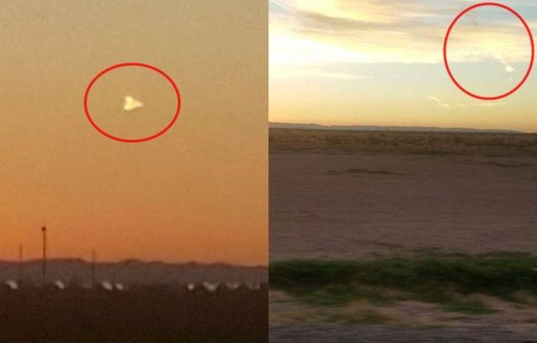 Американцы стали свидетелями НЛО, пролетающего над штатом Техас