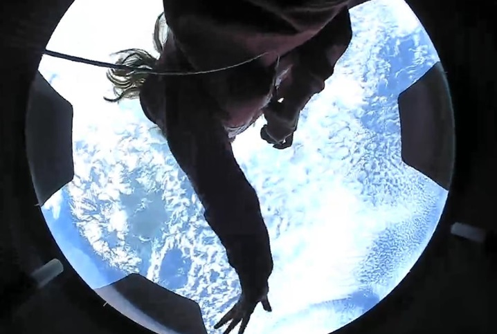 Миссия SpaceX демонстрирует удивительные кадры с околоземной орбиты