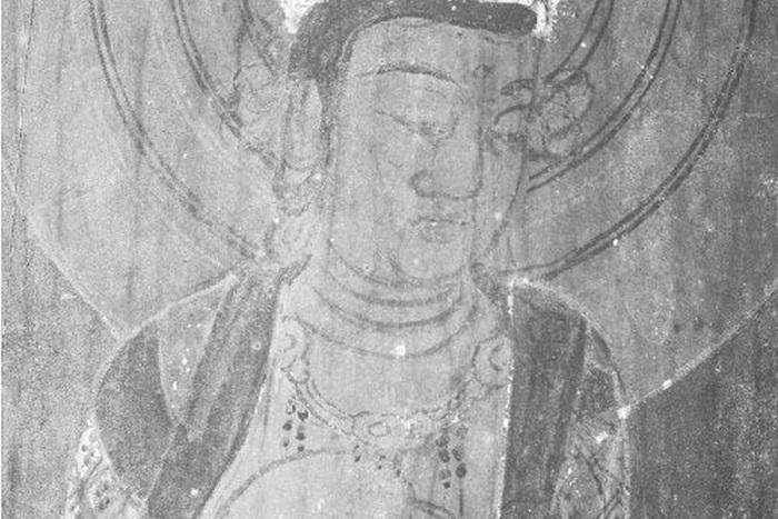 В японском тысячелетнем храме «проступили» лики святых