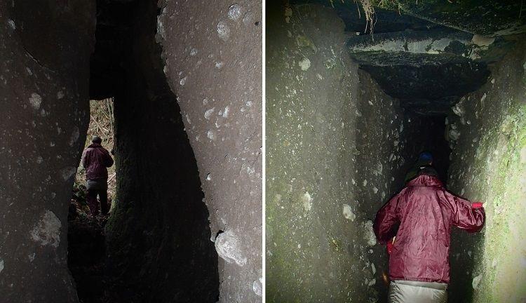 Древние японские туннели Тонкарарин