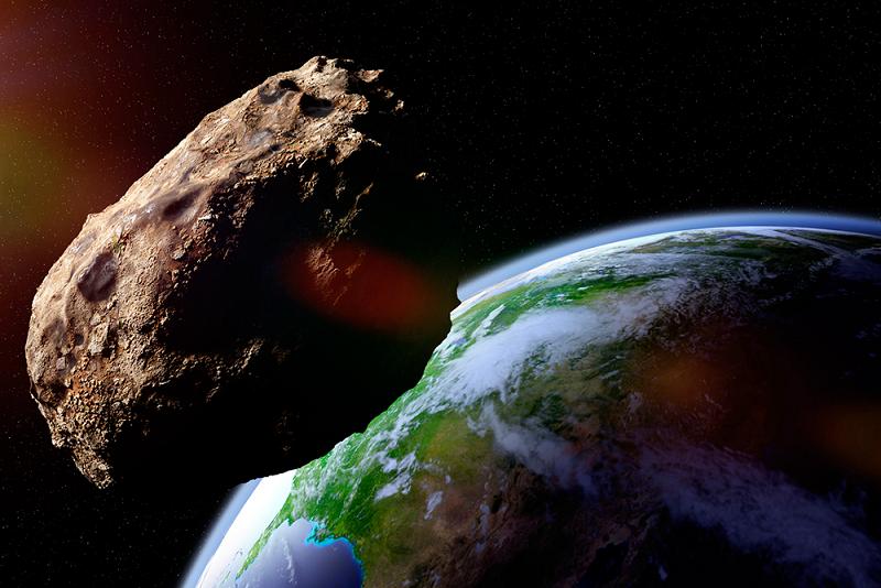 воспользовавшись картинка астероид врезается в землю участке дачный