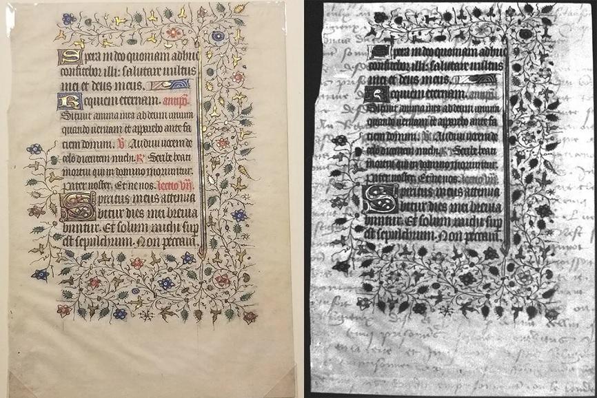 На рукописи 15 века обнаружили скрытое послание