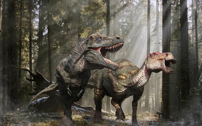Охотился ли древний человек на тираннозавра?