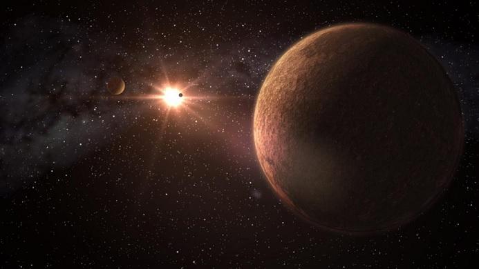 В Солнечной системе обнаружен след гигантского объекта
