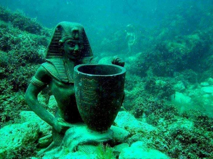 Древние города, которые оказались под водой