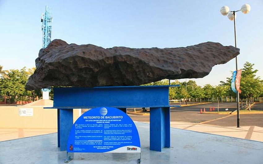 Самые крупные метеориты, которые были найдены на Земле в виде камней