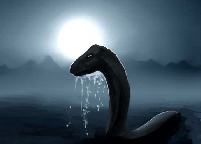 В вожегодском озере может обитать существо, похожее на Лохнесское чудовище