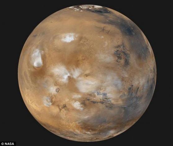 Такой Марс сейчас - без моерей и марсиан