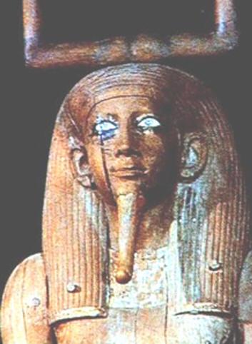 По одной из древних египетских легенд государство Египет создали девять Белых Богов. Тексты на стенах древних пирамид гласят, что боги имели синие или зелёные глаза, а Диодор Сицилийский утверждал, что египетская Богиня охоты и войны Нейт была голубоглазой.