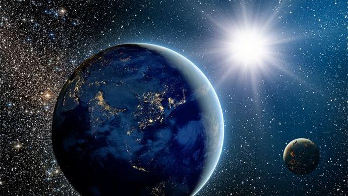 Новые открытия виртуальных археологов на Луне и Марсе