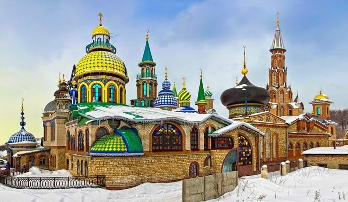Удивительный российский Храм всех религий