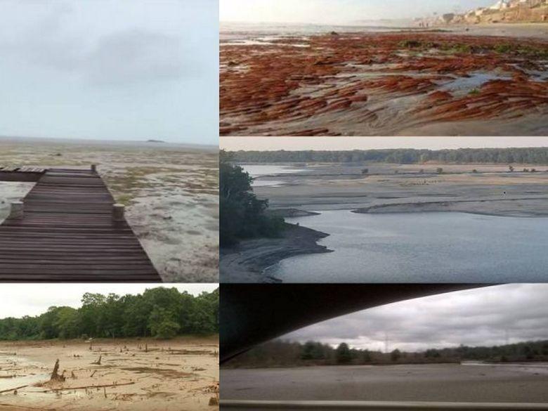 Океан отступает от экваториальных территорий