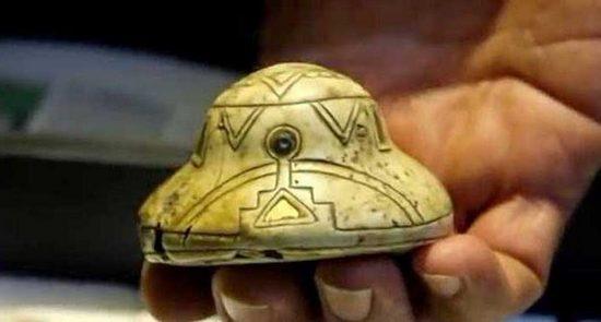 В Мексике найдены уникальные фигурки «летающих тарелок» и их пилотов