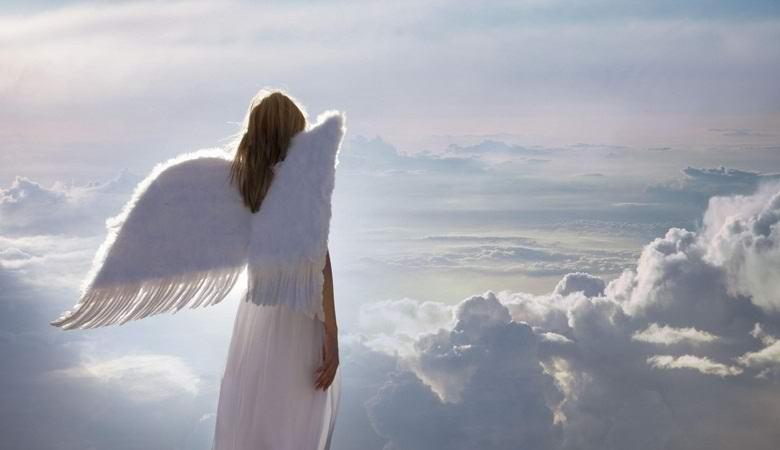 Ангельский образ заметили над Махачкалой