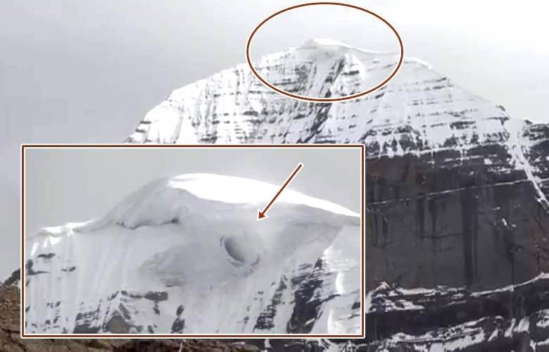 Загадочное отверстие открылось в тибетской горе Кайлас