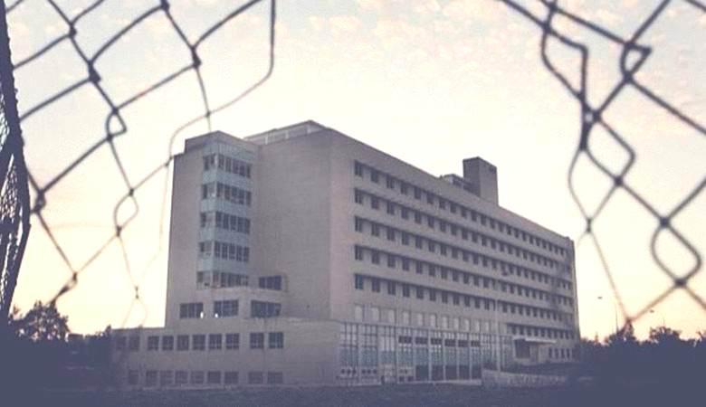 «Нечеловеческая» фигура промелькнула в заброшенном госпитале