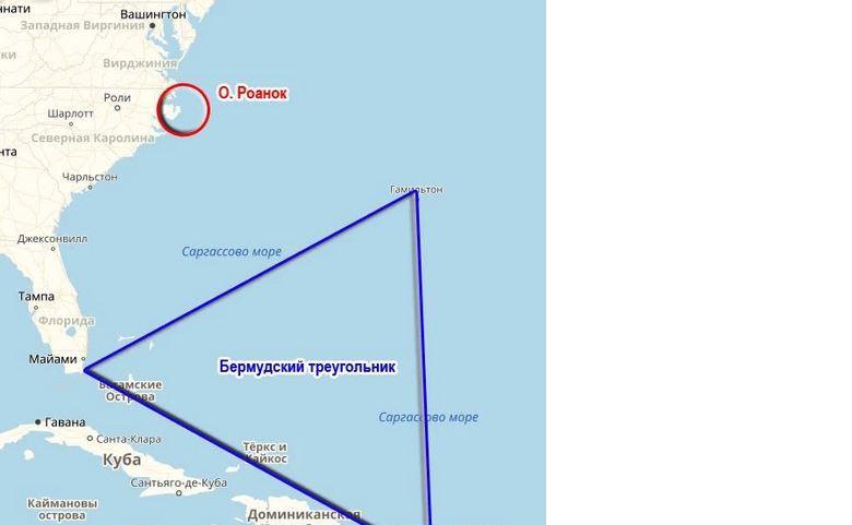 Возле североамериканского континента обнаружены подводные структуры, имеющие правильные геометрические формы
