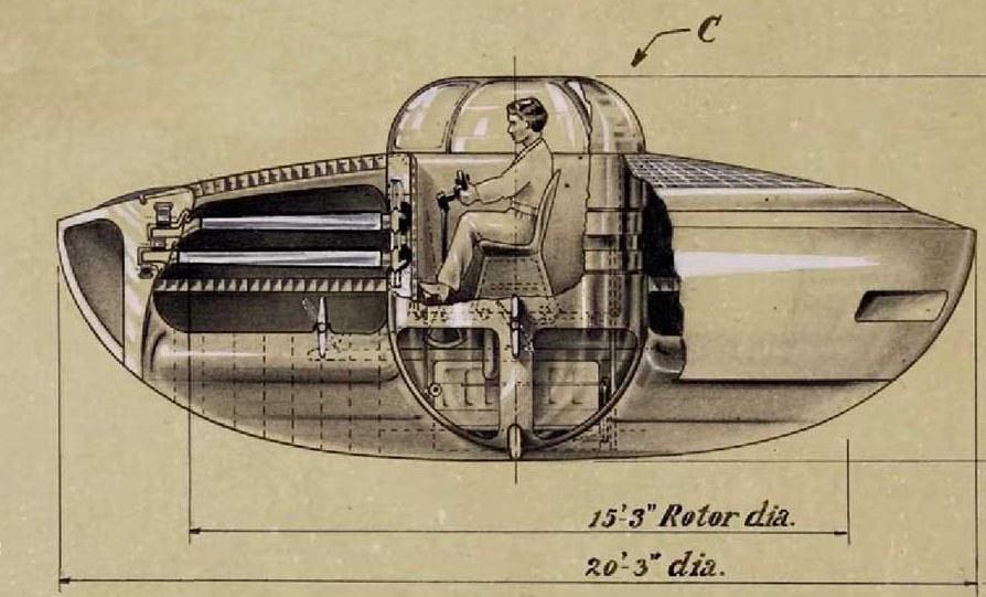 «Летающая тарелка» была запатентована в США еще в 1944 году, но оказалась преждевременным изобретением