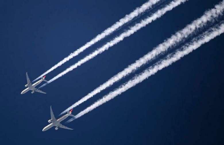 Химиотрассы – опасные химические следы в небе
