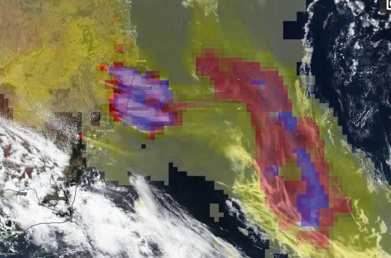 Сжигая Австралию, инопланетяне могут менять на планете климат