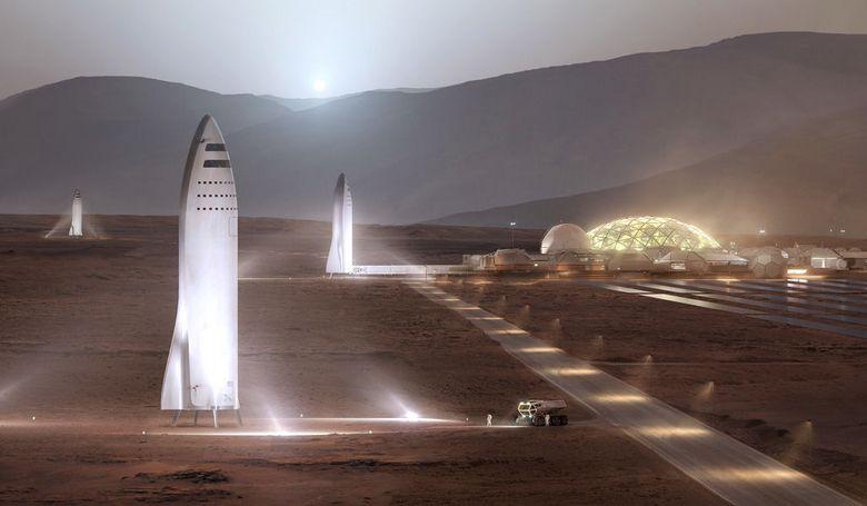 Специалисты НАСА опровергают заявление Илона Маска о невозможности создания колонии на Марсе